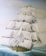 Square-rigged ship